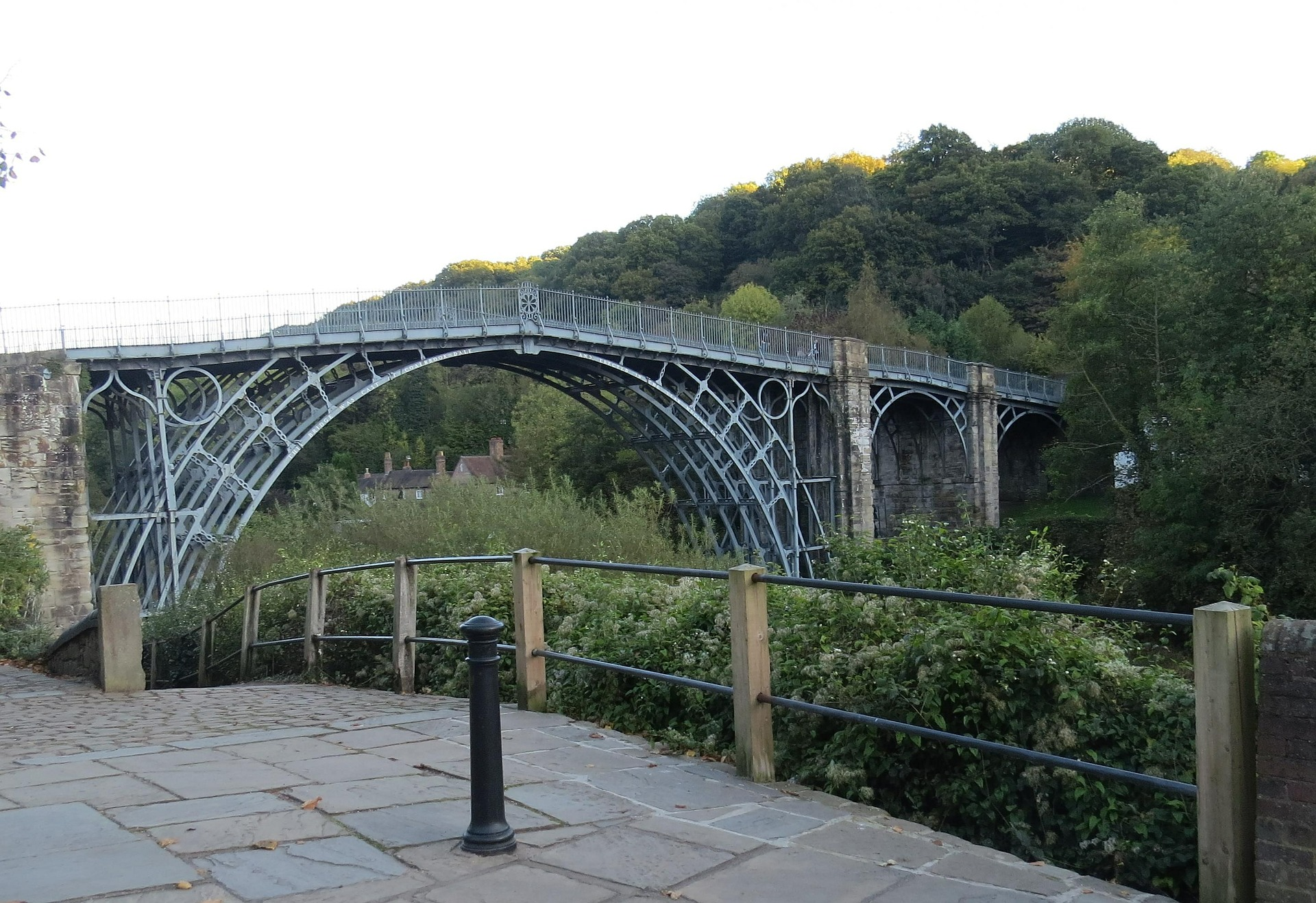Image of a Shropshire Iron Bridge