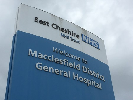Macclesfield District General Hospital, venue for the Macclesfield group