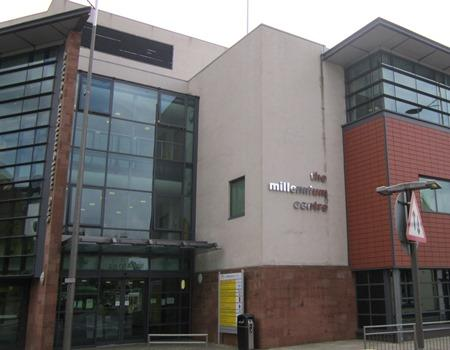 the millennium Centre - venue for St. helens meeting