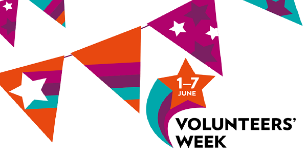 Banner for Volunteers' Week 2018