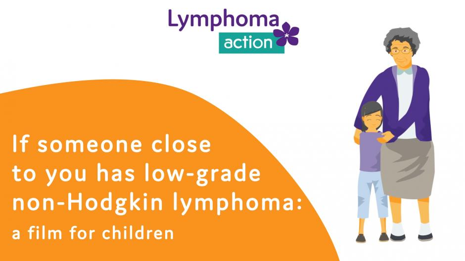 If someone close to you has low-grade lymphoma_animation