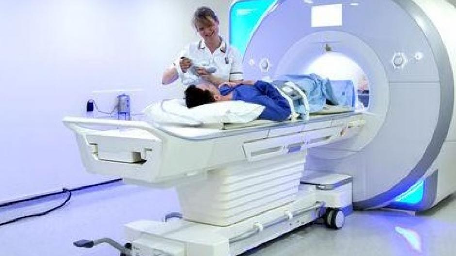 MRI scanner picture courtesy of the Royal Marsden NHS Foundation Trust