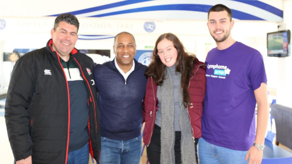 Moppett family at QPR with Les Ferdinand