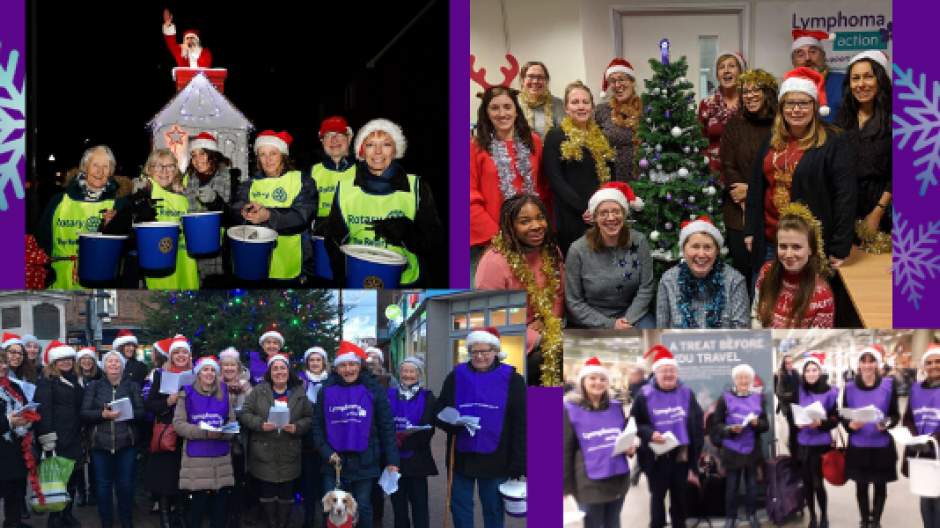 Festive fundraising with Lymphoma Action