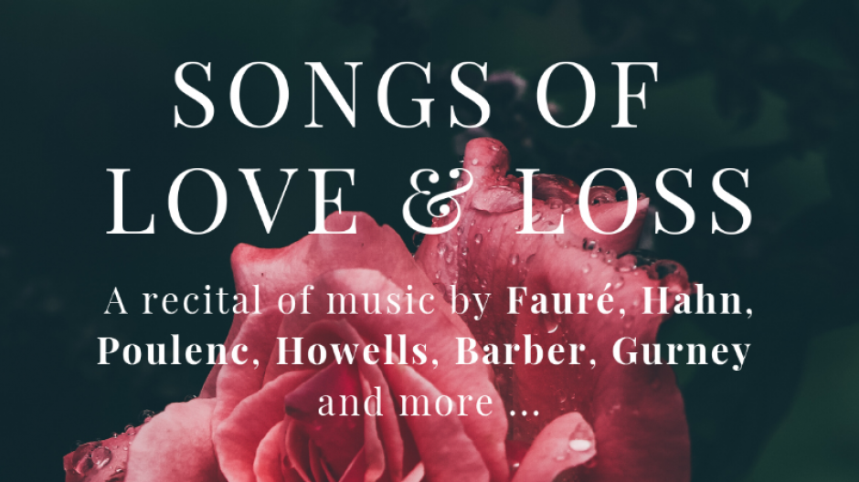 SONGS OF LOVE & LOSS thame concert