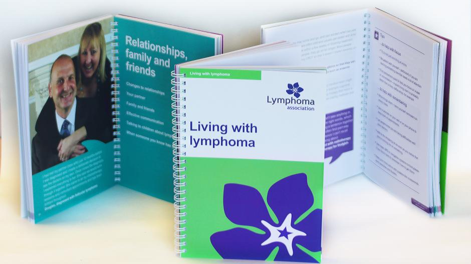 Copy of the Living with lymphoma booklet