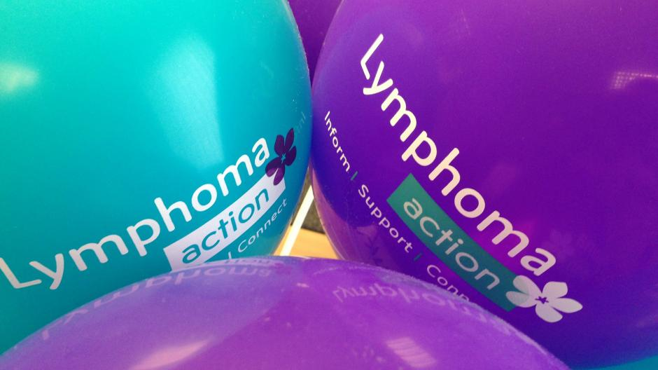Close up Lymphoma Action balloons
