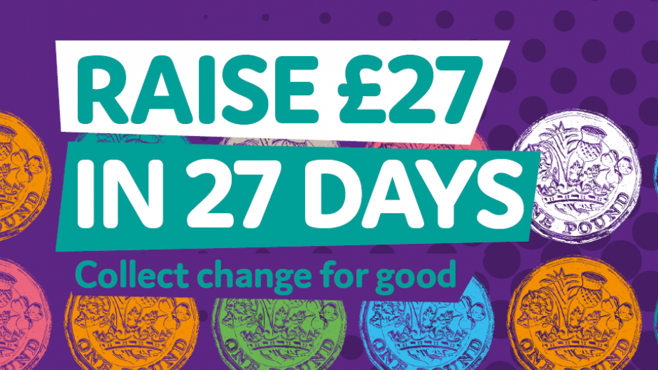 Raise £27 in 27 days