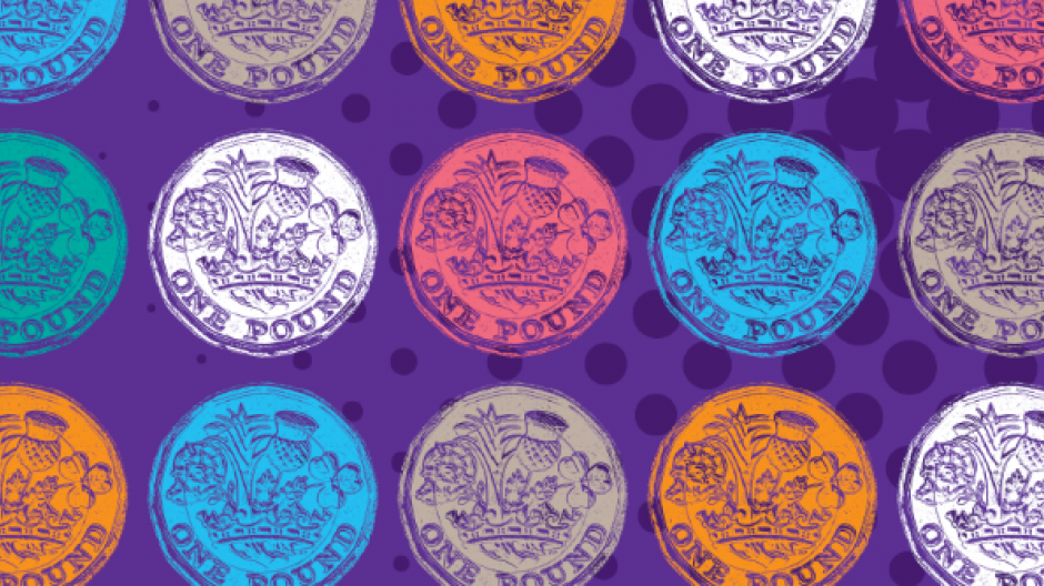 Coloured coins
